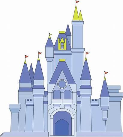 Castle Disney Cinderella Clipart Sleeping Silhouette Beauty