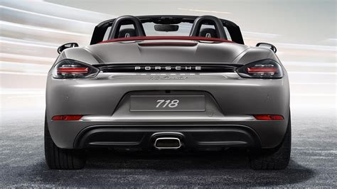 porsche 718 boxster 2017 porsche 718 boxster picture 663468 car review