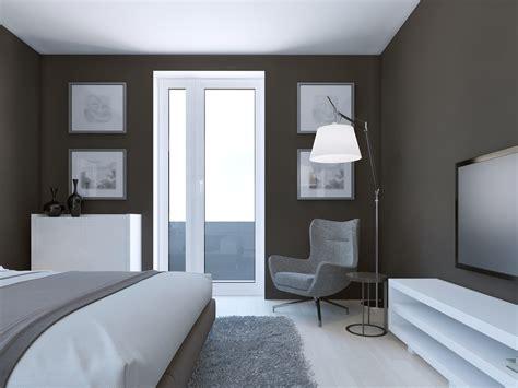 refaire une chambre peinture gris bleu pour chambre