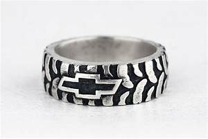 buy a hand made car truck mud bogger men39s tire tread ring With mens bogger wedding ring