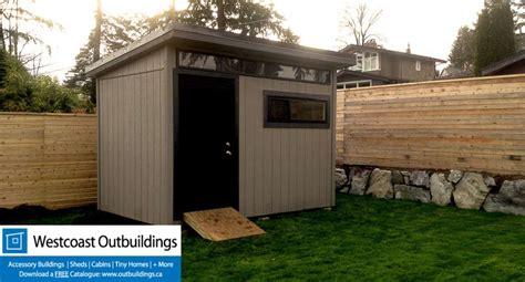 8x12 storage shed kit 8 x12 contemporary prefab garden shed westcoast