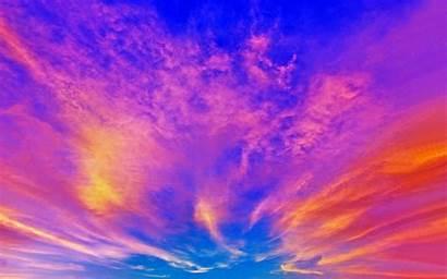 Sky Pantalla Colorful Fondos Cielo Wallpapers Fondo