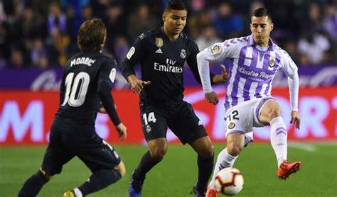 ESPN EN VIVO: Real Madrid vs Valladolid transmisión EN ...