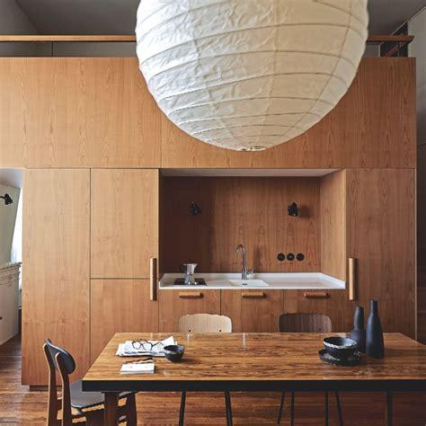 cuisines en bois une cuisine en bois pour une ambiance chalet de montagne