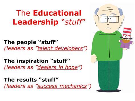 educational leadership allthingslearning