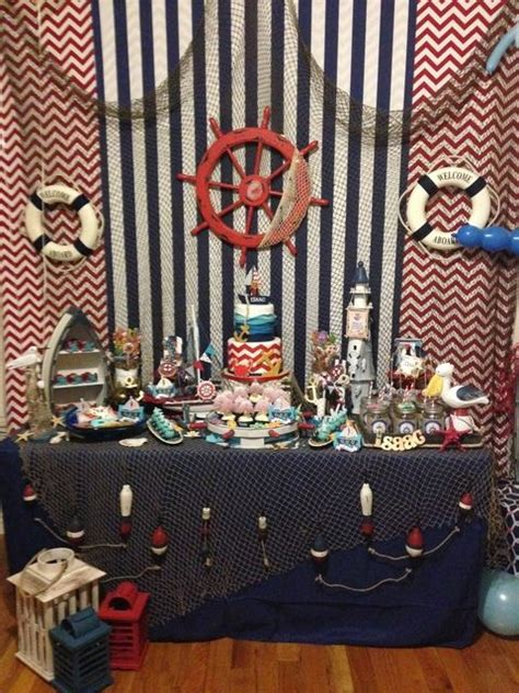 nautical birthday see more ideas at