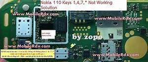 Nokia 110 Keys 1 4 7   Not Working Solution