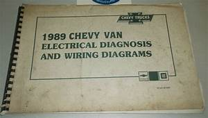 1989 Chevrolet Chevy Van Electrical Diagnosis  U0026 Wiring