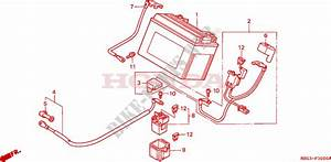 Battery For Honda Vfr 800 Interceptor 2000   Honda
