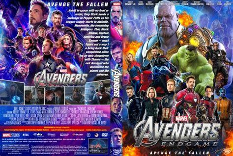 avengers endgame dvd covers labels  covercity
