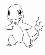 Charmander Coloring Pages Printable Pokemon Lovely Nature Landscape sketch template