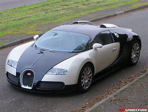 And White Bugatti by Stunning Black White Bugatti Veyron For Sale Gtspirit