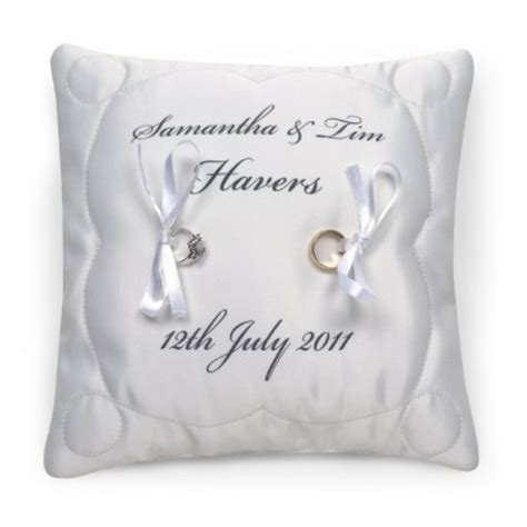 wedding ring cushion gift ideas blog