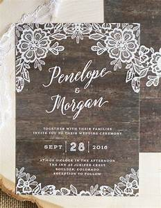 best 25 rustic wedding invitations ideas on pinterest With classy country wedding invitations