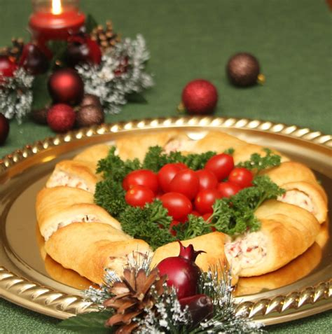 christmas wreath appetizer recipe just short of crazy