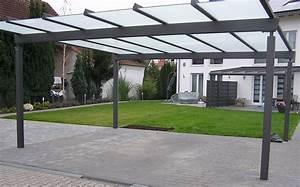 Moderne Carports Mit Glasdach : premium carport kolb und appel ~ Markanthonyermac.com Haus und Dekorationen