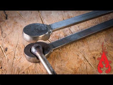 blacksmithing forging  ball swage youtube
