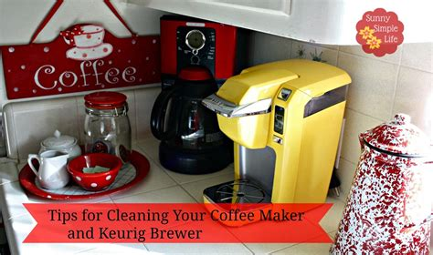 How To Clean Your Coffee Maker And Keurig Brewer Keurig Cleaning Cleaning Keurig