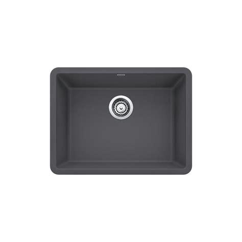 undermount granite composite kitchen sink blanco precis undermount granite composite 24 in single 8724