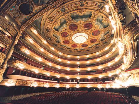 gran teatre del liceu maison dopera barcelona espagne