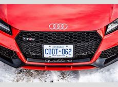 Review 2018 Audi TT RS Canadian Auto Review