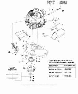 Exmark Lzz29ka606 S  N 850 000  U0026 Up Parts Diagram For