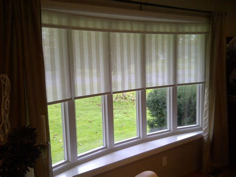 Another Bow Window Treatment  Home Pinterest