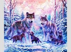 Download Wolf wallpapers to your cell phone family wolf