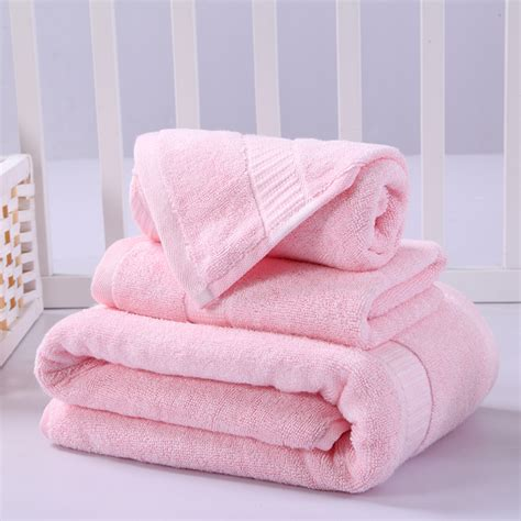Pink Bathroom Towel Set by Buy Wholesale Pink Towels From China Pink