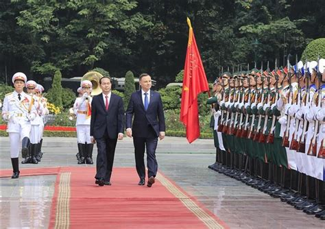 button rok bangkok ceremony held to welcome president news vietnamnet