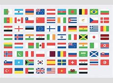 Vector World Flag Icons SVG Medialoot