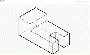 Orthographic Projection And Isometric Drawing Tutorial