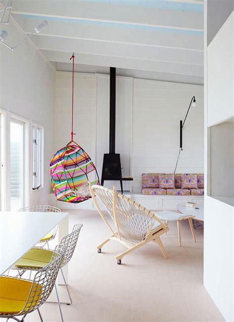 hip hanging chairs  english room
