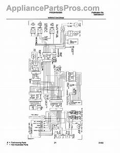 Parts For Frigidaire Frs26h5asb5  Wiring Diagram Parts