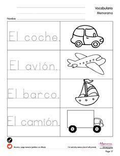 spanish printables images spanish printables