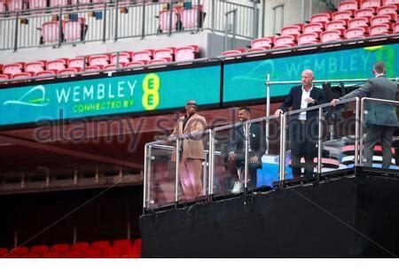Ian Wright, Ashley Cole, Alan Shearer and Gary Lineker ...