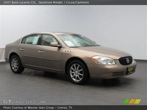 Buick Lucerne Cxl 2007 by Sandstone Metallic 2007 Buick Lucerne Cxl Cocoa