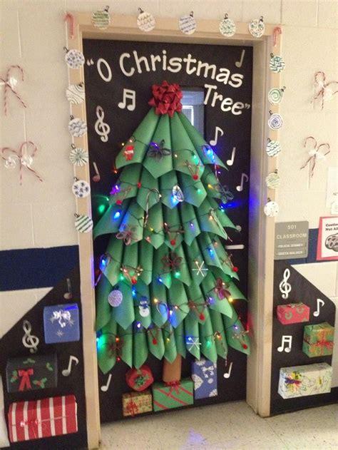 christmas doors in schools door decorating ideas the xerxes