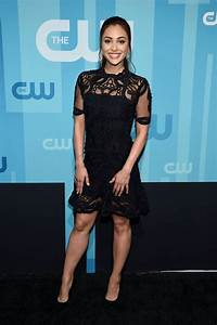 LINDSEY MORGAN at CW Network's Upfront in New York 05/18 ...