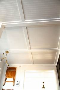 Light Tubes For Ceilings Rehab Diaries Diy Beadboard Ceilings Before And After