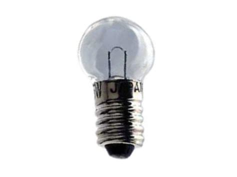 incandescent mini screw bulb