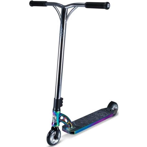 We strive to be the number 1 action sports company. MGP VX7 Team Edition Scooter - Black Neo Chrome