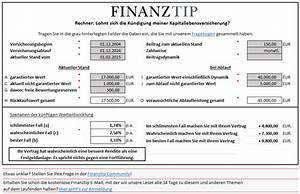 Steuern Und Versicherung Berechnen : lebensversicherung rechner berechnen sie ihrere rendite ~ Themetempest.com Abrechnung