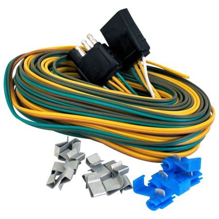Auto Trailer Wiring Kit by Attwood Complete Trailer Wiring Kit Walmart