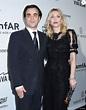 Courtney Love et Nicholas Jarecki lors du amfAR's ...