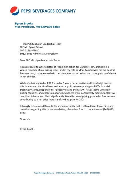 sles of letters of recommendation letter of recommendation from byron 9761