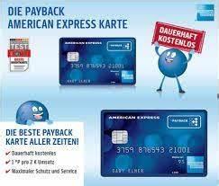 Pay Back Karte : payback american express kreditkarte manuela s bunte welt ~ Orissabook.com Haus und Dekorationen