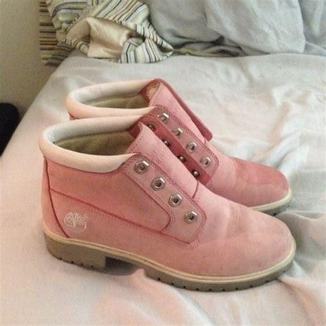 light pink timberlands 69 timberland shoes light pink tim s from karleigh