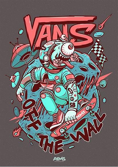 Vans Skater Space Behance Project