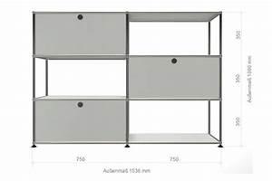 Offenes Regal Schließen : usm haller highboard raumteiler 3 offene elemente 3 klappt ren ~ Orissabook.com Haus und Dekorationen